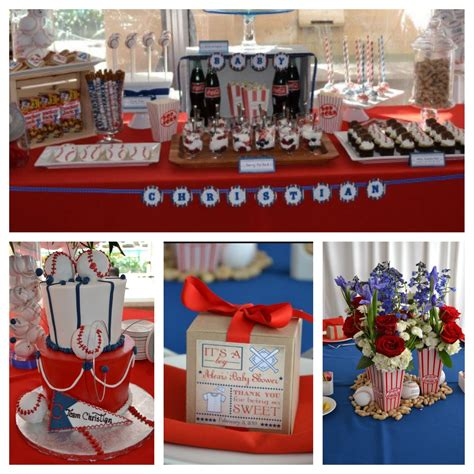 Baseball Baby Shower Decoration Ideas by Baseball Baby Shower Decorations Baby Shower Ideas