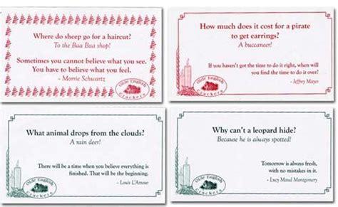 mottos cracker jokes mottos