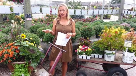 fabulous fall flower containers how to plant a fabulous fall container viyoutube