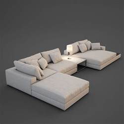 sectional model realistic sofa 3d max