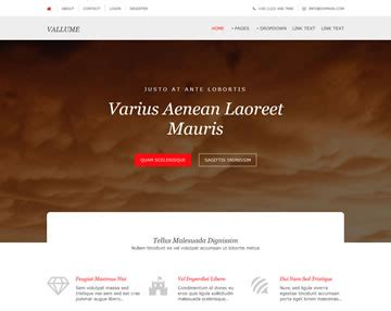 Website Page Templates by Vallume Website Template Free Website Templates Os