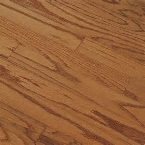 shop bruce springdale plank prefinished gunstock engineered oak hardwood flooring 25 sq ft at