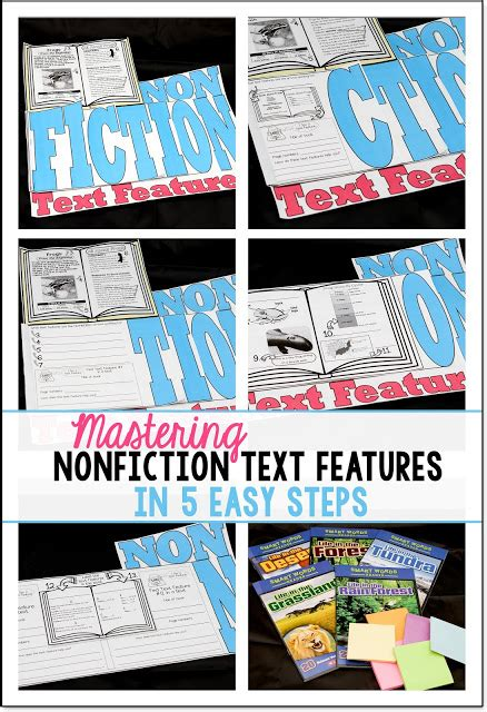 5 simple steps to mastering nonfiction text features mastered in 5 easy steps simply skilled in second