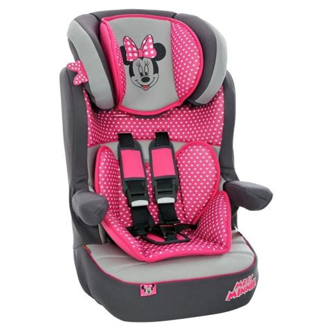minnie mouse booster car seat cover discover and save creative ideas