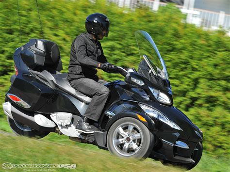 can you ride a motocross bike on the road 2010 can am spyder rt first ride photos motorcycle usa