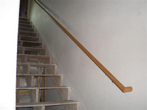Stairs Handrails 20090820 basement stairs handrail 1 flickr photo