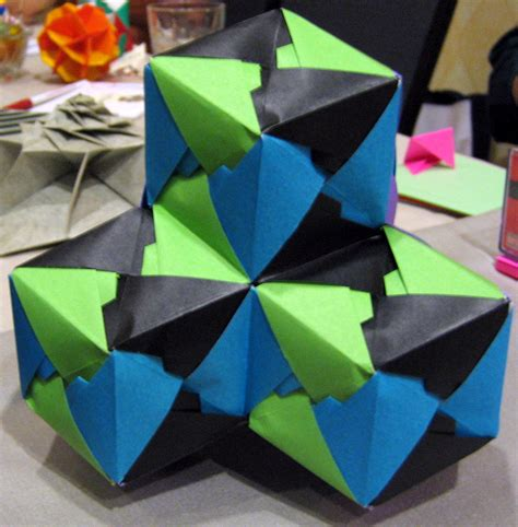 Maths Origami - the mathematical tourist folding math