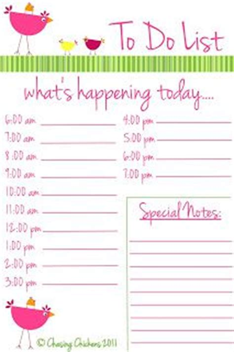 girly printable to do list 1000 images about printable to do list on pinterest