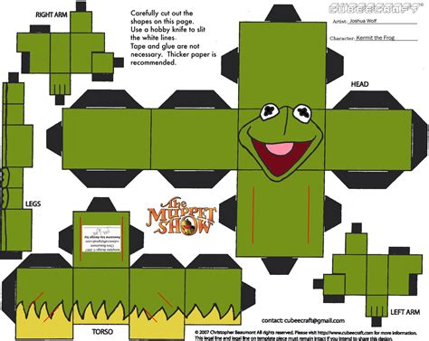Free 3d Papercraft Templates - from picture to page scrapbook papercraft show