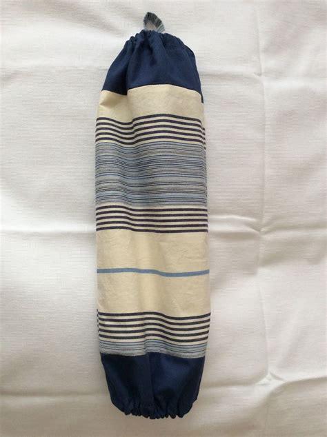Sac Pour Ranger Les Sacs Plastiques by Sac 224 Sacs En Coton 224 Rayures Bleues Pour Ranger Les Sacs