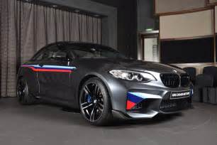 Bmw Accessories Bmw M2 Gets M Performance Parts And Akrapovic Exhaust System