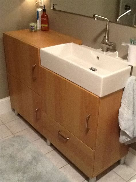Ikea Bathroom Vanity Hack Pin By Lara C On Ikea Hacking Pinterest