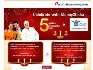 icici bank money to india promo code money 2 india images gallery