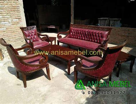 Kursi Ukiran kursi sofa tamu aliska ukiran jati anisa mebel jepara