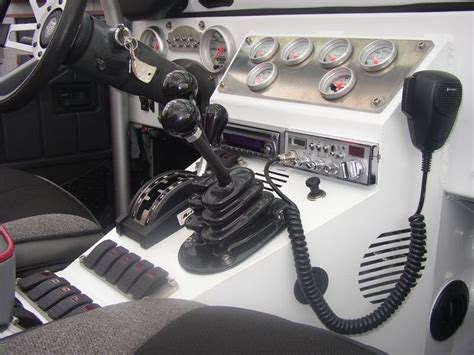 jeep tj custom dash custom jeep cj dashes 6x6 5 lugs robby gordon 17