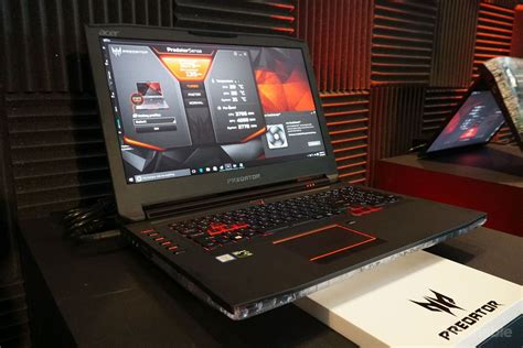acer pounces on vr gaming with new predator desktop and laptop pcs acer s huge 10 pound gaming laptop is vr ready
