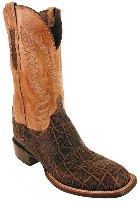 lucchese 1883 c1402 w8 mens vintage peat brown elephant
