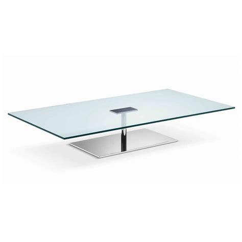 rectangular metal coffee table farniente rectangular glass and metal coffee table by