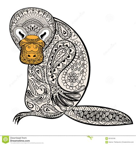 anti stress colouring book australia zentangle australian platypus totem for anti stress