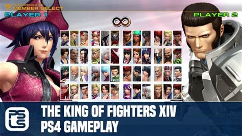 Kaset Ps4 The King Of Fighters Xiv the king of fighters xiv ps4 gameplay