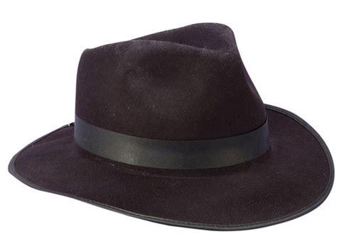 black hat black felt fedora gangster hat caufields com