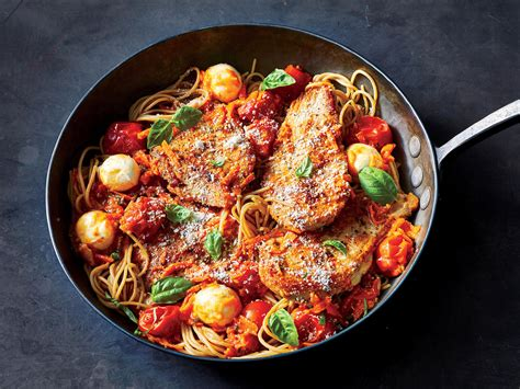 light chicken pasta recipes this 20 minute tomato basil and chicken pasta