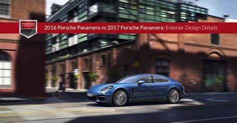 porsche panamera 2017 exterior 2016 porsche panamera vs 2017 porsche panamera exterior