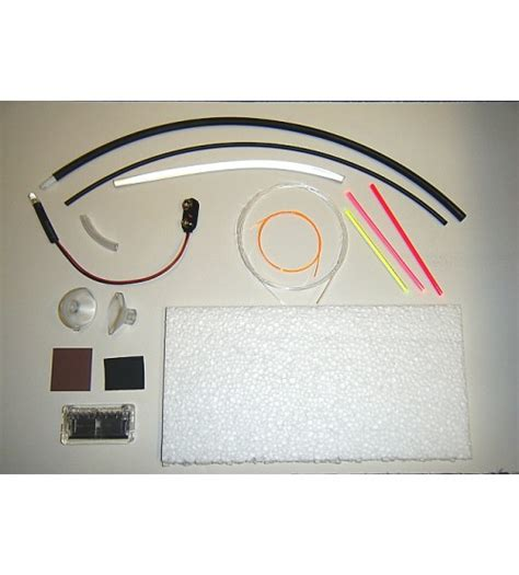 solar fiber optic lighting kit fiber optic lighting inventors kit