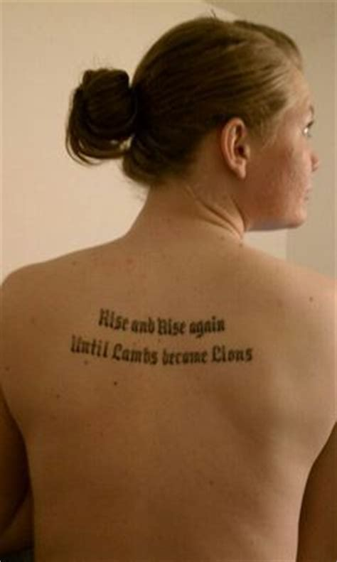 tattooed heart lafayette in hours my second tattoo quot rise and rise again until lambs become
