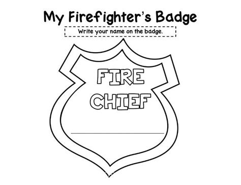 badge template for preschool preschool safety booklet printables