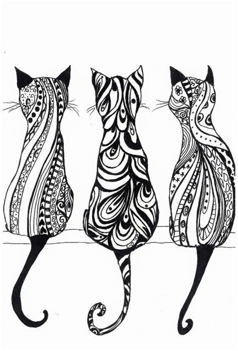 geometric cat coloring page free printable coloring sheets for adults geometric