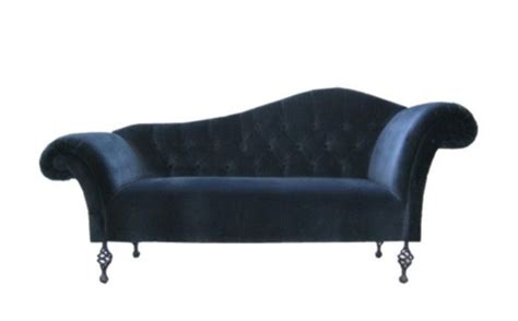 Blue Velvet Chaise blue velvet sofa or chaise longue for the home