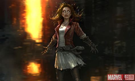 Quicksilver Ad 8517 Brown Leather 1 age of ultron get your look at quicksilver and scarlet witch mtv