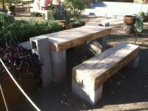 cinder block furniture backyard triyae cinder block furniture backyard various