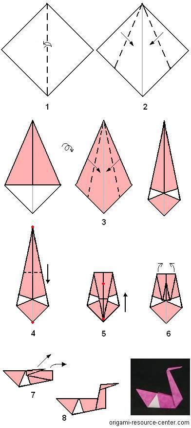 tutorial origami swan origami swan hot glue to upside down plastic bowl attach