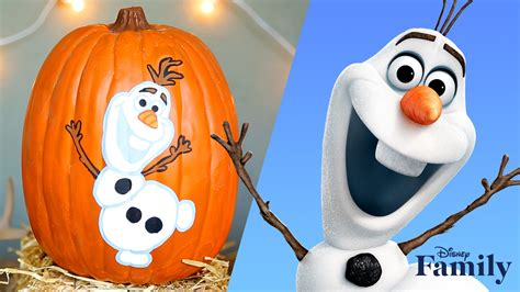 olaf gifts for s gift frozen pumpkin painting disney diy disney