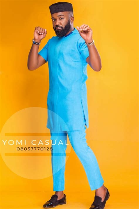yomi casual 2016 latest designs images menswear yomi casual enlists noble igwe as his muse