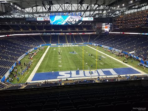 ford field sections ford field section 242 detroit lions rateyourseats com