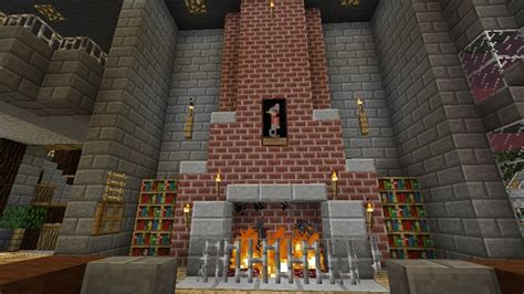 How To Build A Fireplace Minecraft by Fireplace Minecraft
