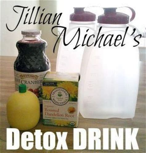 Root Detox Drink by How To Make Jillian Michael S Secret Detox Cleansing Drink