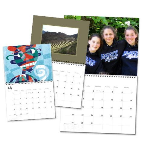 make my own calendar with pictures free make your own calendar gift ideas cherie roe