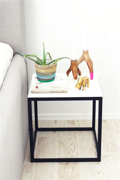 ikea table diy ikea hack nightstand four ways kristi murphy diy blog