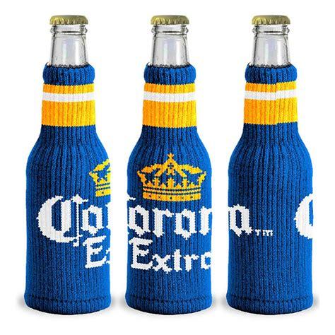 knit koozie corona knitted bottle cooler