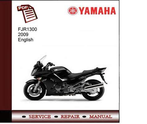Rodyrol Fjr1300 Maintenance Manual