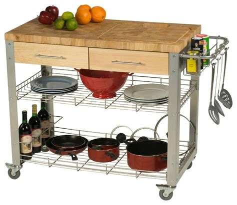 kitchen work islands butcher block work station contemporary kitchen islands and kitchen carts by chris chris