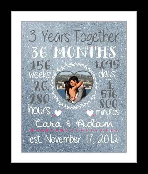 Wedding Anniversary Ideas For 1 Year by Best 25 3 Year Anniversary Ideas On