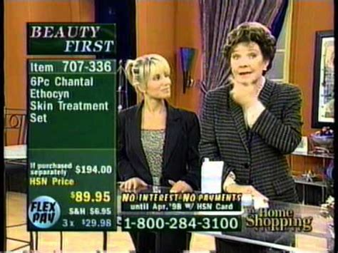 polly bergen on hsn home shopping network 1997