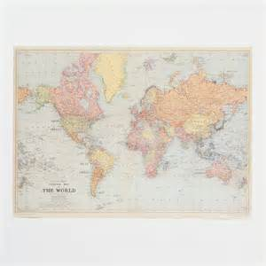 Vintage World Maps by Use A Vintage World Map As Wallpaper College Pinterest