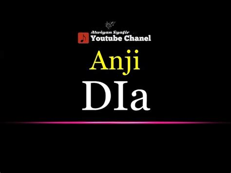 download mp3 anji manji dia karaoke anji dia senzomusic com