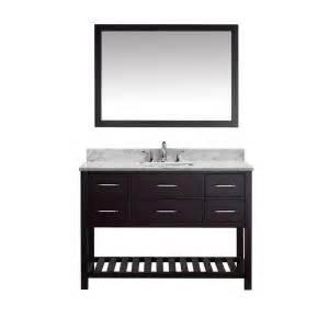 Abc Gift Cards Bbb - virtu usa caroline estate 48 in w x 36 in h vanity with marble vanity top in carrara